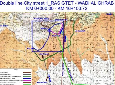 Wadi Al Ghrab City Street